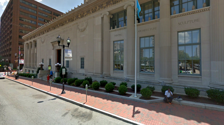 Wilmington Public Library (Google maps)