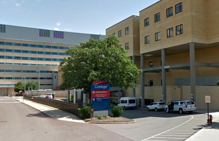 Geisinger Medical Center in Danville, Pa. (Google Maps)