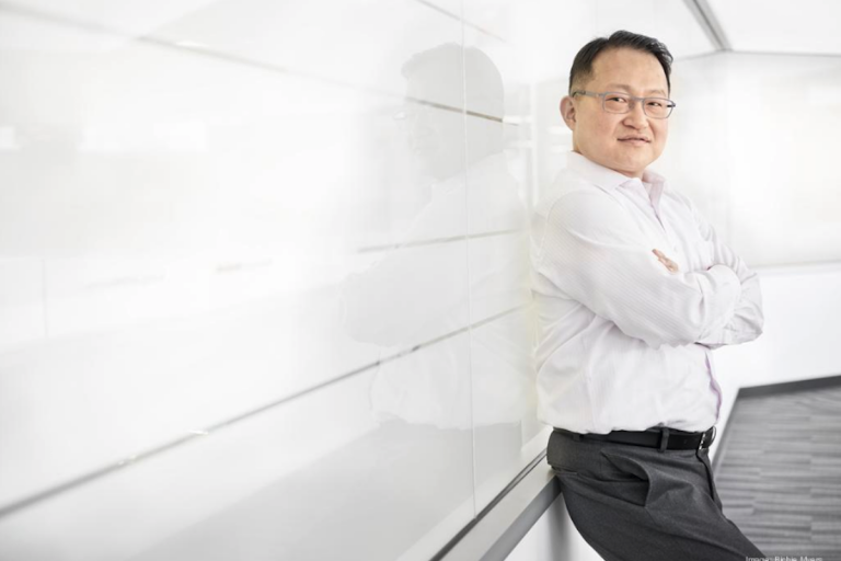 J. Joseph Kim, co-founder and CEO of Inovio Pharmaceuticals. (Rich Myers)