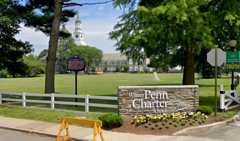 William Penn Charter School in Philadelphia (Google Maps)