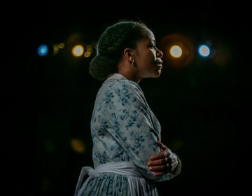 Danielle Leneé portrays Harriet Tubman in Lorene Cary's debut play, 'My General Tubman.' (Wide Eyed Studios)