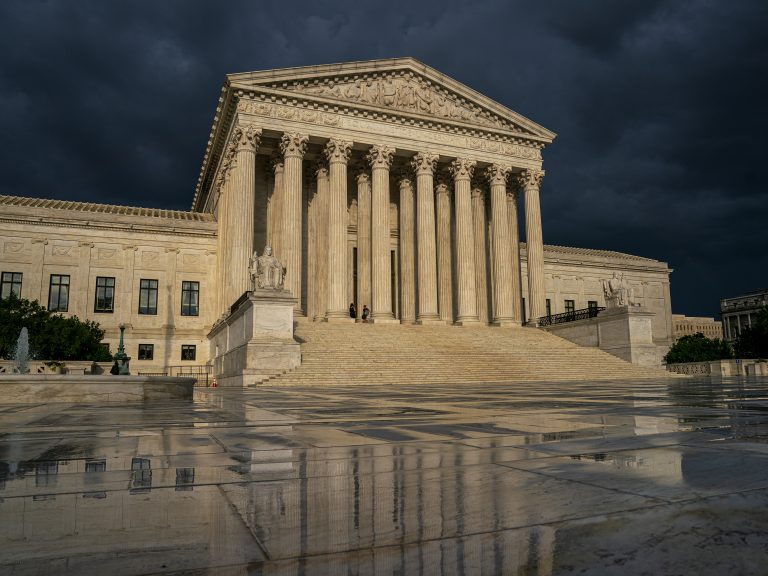 The Supreme Court will examine Trump administration regulations that allow employers to claim exemptions to the contraceptive insurance coverage mandate in the Affordable Care Act. (J. Scott Applewhite/AP Photo)