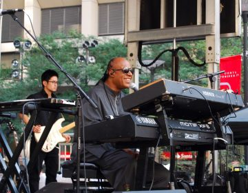 Stevie Wonder performs at Dilworth Park in 2015FACEBOOK / CENTER CITY DISTRICT