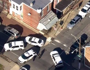 The scene in Frankford during the short but fatal gun battle (NBC10)