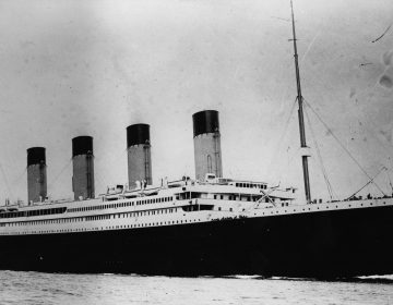 The Titanic set out from Southampton, England, in 1912 — and infamously dragged more than 1,500 of its passengers and crew to their deaths not long afterward. Now the underwater wreckage of the historic vessel is getting some new protections. (Central Press/Getty Images)