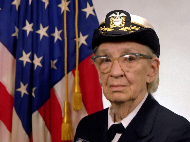 Commodore Grace M. Hopper, USN (covered).