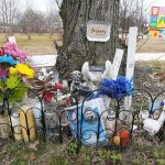 Memorial at Von Nieda Park (Michael Butler for WHYY)
