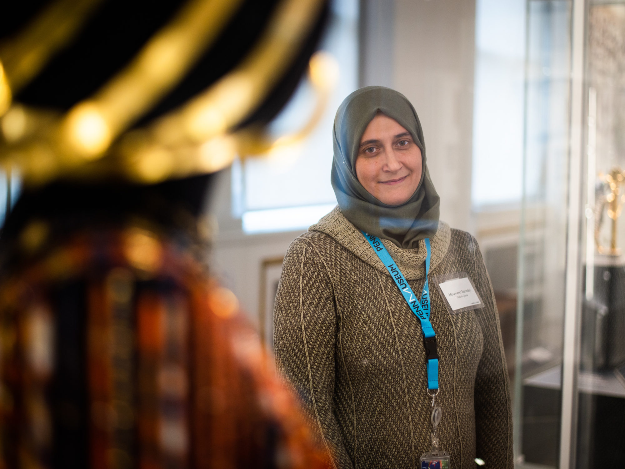 Refugee docents help bring Penn Museum's global collection to life