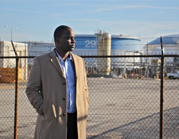 Bilal Motley worked at the Philadelphia Energy Solutions refinery for 13 years before an explosion and fire closed the plant. (Emma Lee/WHYY)