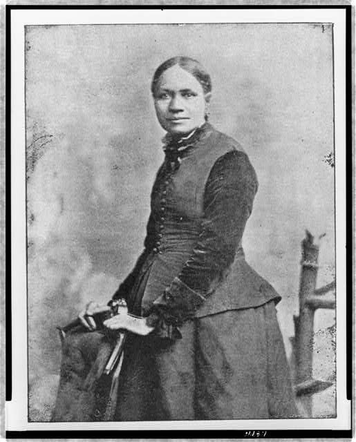 Frances Ellen Watkins Harper was an abolitionist, suffragist, poet, teacher, public speaker, and writer, one of the first African American women to be published in the United States. (Library of Congress)