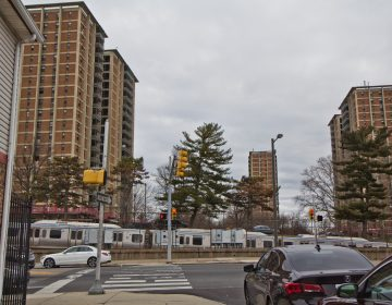 The West Park apartment towers. (Kimberly Paynter/WHYY)