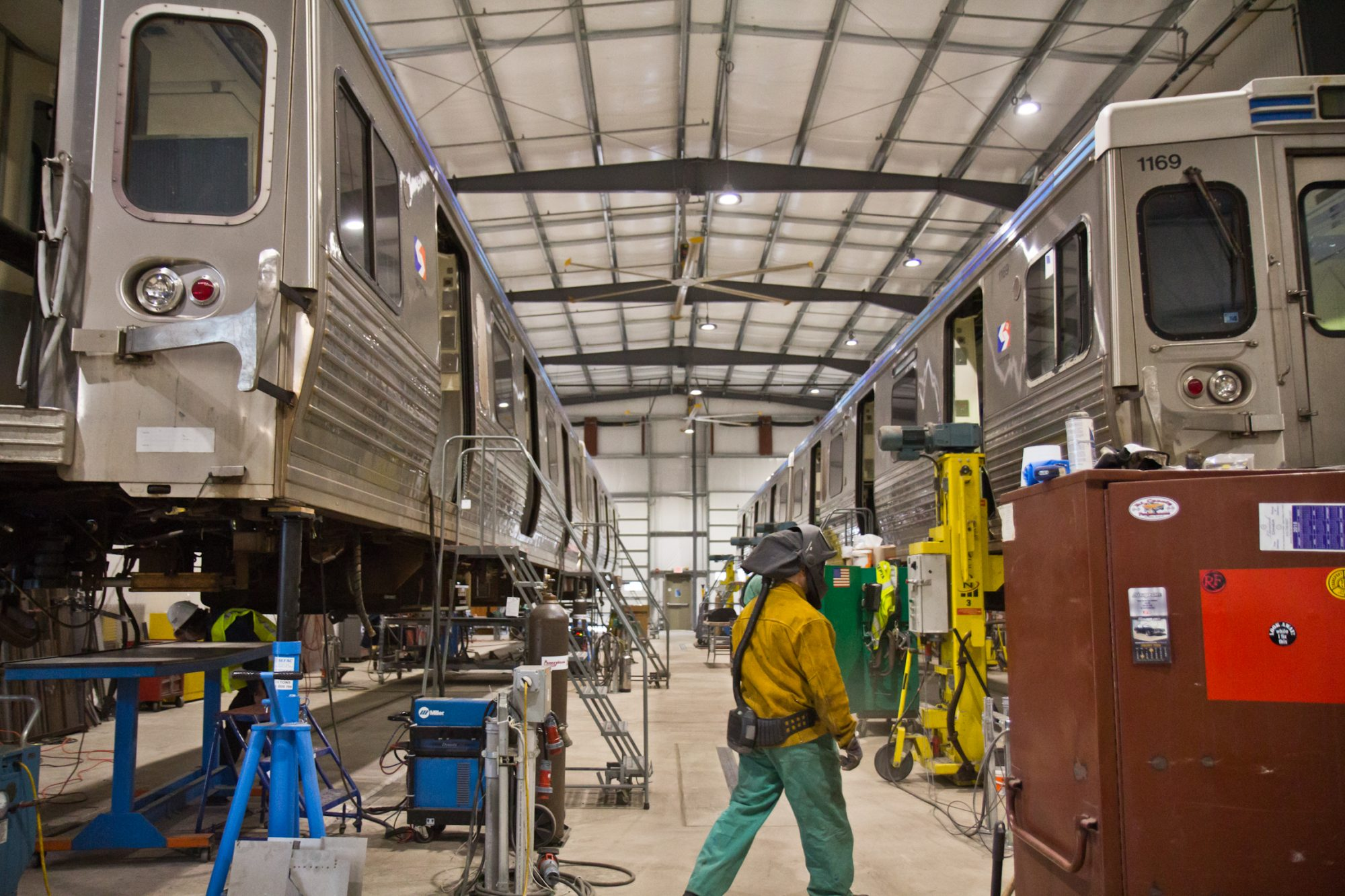 Septa Christmas Schedule 2020 SEPTA spends millions to fix MFL cars with 'hoagie' of steel   WHYY