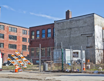 Streamline is developing a lot on the 1300 block of Germantown Avenue, between Thompson and Master Streets. (Kimberly Paynter/WHYY)