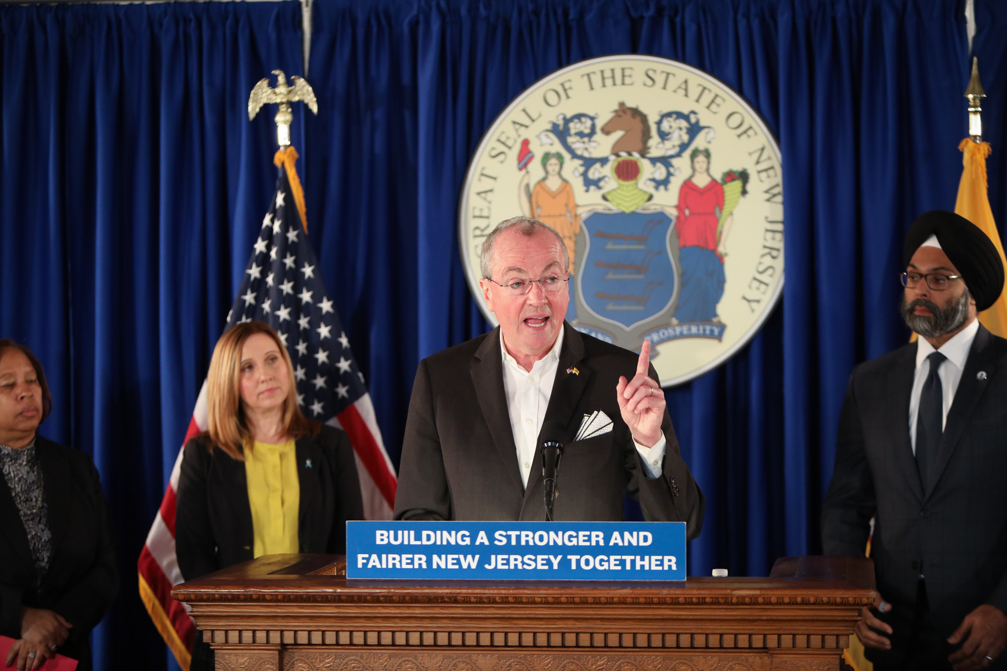 Gov. Murphy outlines bill to crack down on workplace harassment, misconduct