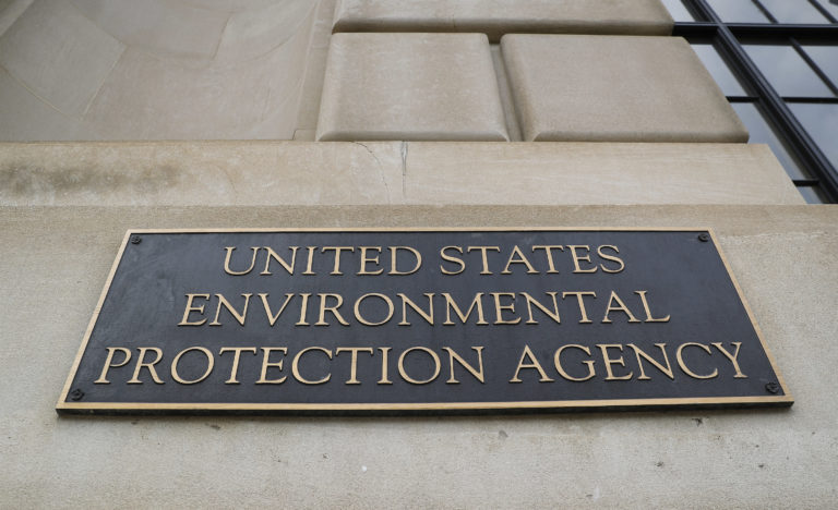 The Environmental Protection Agency (EPA) Building in Washington, Thursday, Sept. 21, 2017. (AP Photo/Pablo Martinez Monsivais)