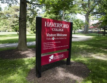 Haverford College in Haverford, Pa., Wednesday, May 22, 2019. (AP Photo/Matt Rourke)