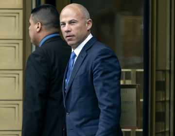 In this July 23, 2019, file photo, California attorney Michael Avenatti walks from a courthouse in New York, after facing charges. (Craig Ruttle/AP Photo)