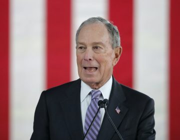 Democratic presidential candidate Mike Bloomberg speaks at a campaign event in Raleigh, N.C., Thursday, Feb. 13, 2020. (Gerald Herbert/AP Photo)