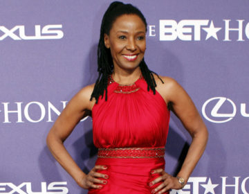 Former model and restaurateur B. Smith arrives at the BET Honors red carpet in the Warner Theatre in Washington. B. Smith, became one of the first African-American models on the cover of Mademoiselle and later opened restaurants, revealed last year that she has Alzheimer's disease. (Jose Luis Magana/AP Photo, File)