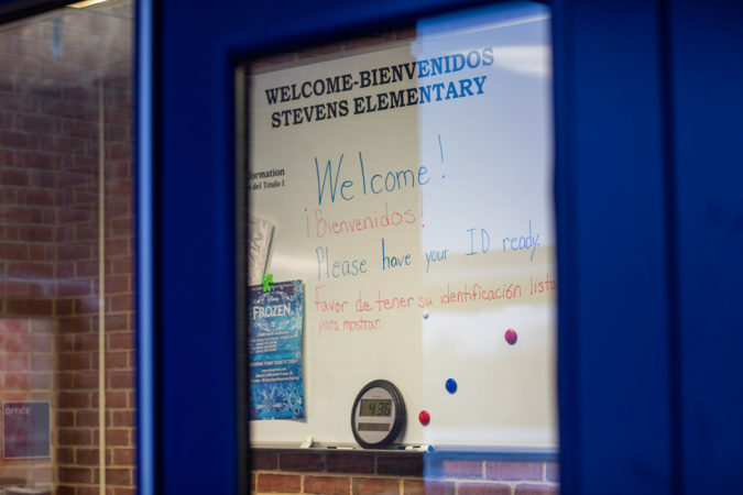 At Thaddeus Stevens Elementary  about a quarter of the student body are classified as English Language Learners. (Jeffrey Stockbridge for Keystone Crossroads)