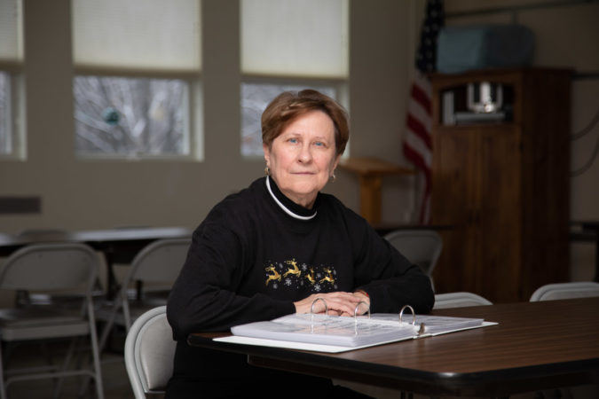 Sue Marshall runs the Agape English Program at King Street Ministry Center in Chambersburg. Each month, around 200 area residents come in to receive free support learning English or literacy. (Jeffrey Stockbridge for Keystone Crossroads)