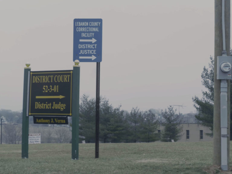 Outside the Lebanon County Correctional Facility. The Pennsylvania institutional Law Project is suing the jail's warden and two deputy wardens for violating inmate's religious rights. (Joseph Darius Jaafari/PA Post)