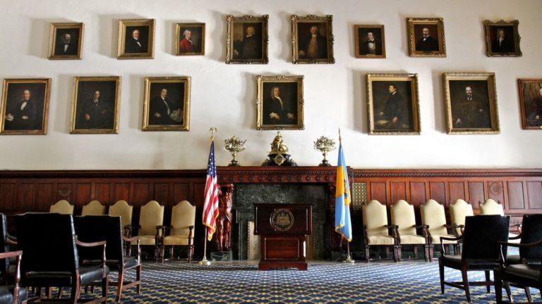 Mayor's Reception Room (Emma Lee/WHYY)