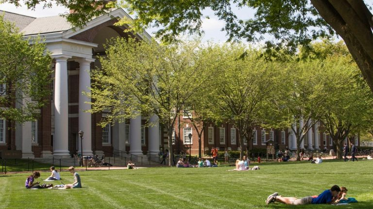 The campus at University of Delaware.