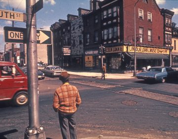 Philadelphia's South Street in the 1960s. (Courtesy of Denise Scott Brown.)