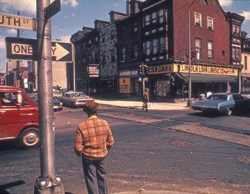 Philadelphia's South Street in the 1960s. (Courtesy of Denise Scott Brown.)