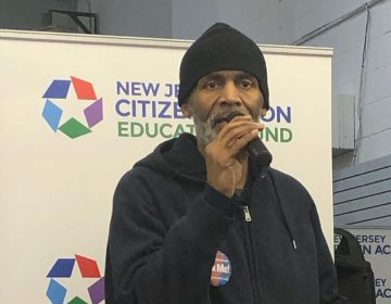 Winston George of Irvington discussed the free tax-filing help he received from NJ Citizen Action. (Citizen Action)