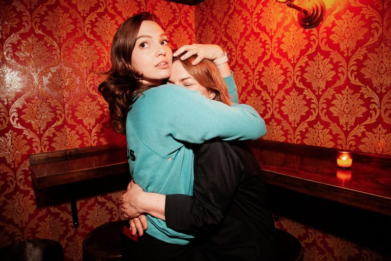 Comedian-writer and actress Addie Weyrich with mom Ronnie Polaneczky. (Image by Mindy Tucker)
