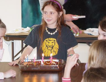 Allyson Church celebrating her eight birthday on Leap Day 2004. She's turning 24 this year. (Courtesy of Allyson Church)