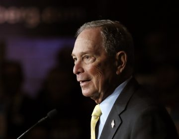 Democratic presidential candidate Michael Bloomberg generated criticism after a 2015 audio clip resurfaced in which he defends aggressive police tactics targeting minority communities. (Carlos Osorio/AP Photo)