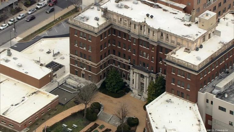 Mercy Philadelphia Hospital in West Philadelphia. (NBC10)