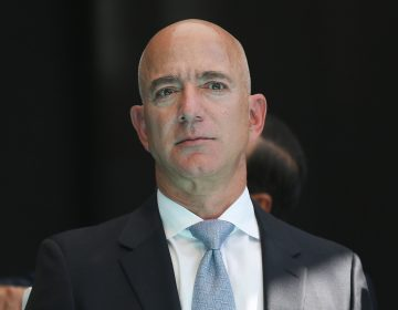 Amazon CEO Jeff Bezos announced Monday he would spend $10 billion of his own fortune to launch a global initiative to fight climate change. (Arif Hudaverdi Yaman/Anadolu Agency via Getty Images)