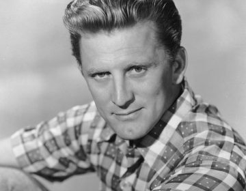 Actor Kirk Douglas, shown above at 39, was born Issur Danielovitch in New York to Russian-Jewish parents. He would later tell his own children that they didn't have his