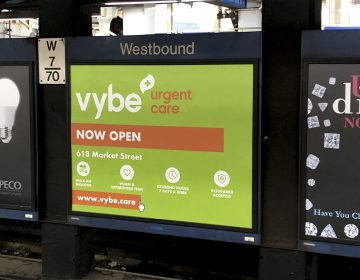 The Vybe urgent care at 36th and Market MICHAELA WINBERG / BILLY PENN