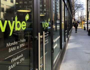 A Vybe urgent care center at 3550 Market St. in Philadelphia (Michaela Winberg/Billy Penn)