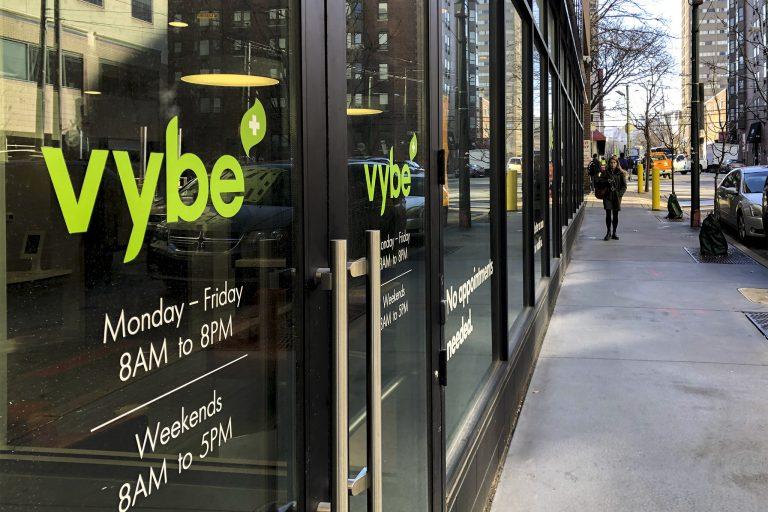 A Vybe urgent care center at 3550 Market St. in Philadelphia (Michaela Winberg/Billy Penn)