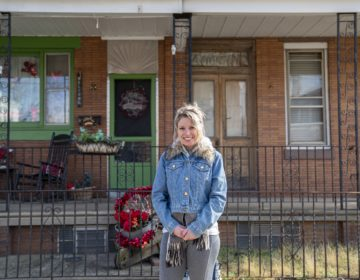 Yvonne Stephens, who heads a local civic group, wants to preserve the halcyon stability of Bridesburg for generations to come. (Jessica Kourkounis for Keystone Crossroads)