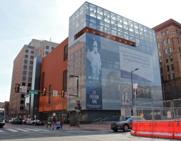 The National Museum of American Jewish History in Philadelphia. (Emma Lee/WHYY)