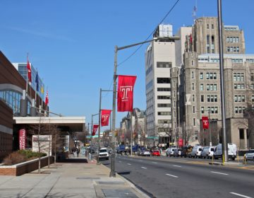 Temple University campus at North Broad Street in Philadelphia (Emma Lee/WHYY)