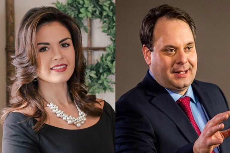 Voters in District 18 of the Pennsylvania House of Representatives, will choose between Republican K.C. Tomlinson (left) and Democrat Harold Hayes in a special election Tuesday, March 17, 2020. (Photos from candidates' Facebook pages)