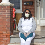 Like many families in Pennsylvania, Lakeyia Johnson's, of Norristown, is feeling the strain of the coronavirus shutdown. (Kimberly Paynter/WHYY)