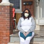 Like many families in Pennsylvania, Lakeyia Johnson's, of Norristown, is feeling the strain of the coronavirus shutdown. (Kimberly Paynter/WHYY)