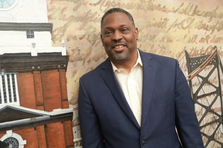 Gregory Holston, the former executive director of POWER, joined the Philadelphia District Attorney's Office as senior adviser on advocacy and policy. (Abdul R. Sulayman/ Tribune Photo)