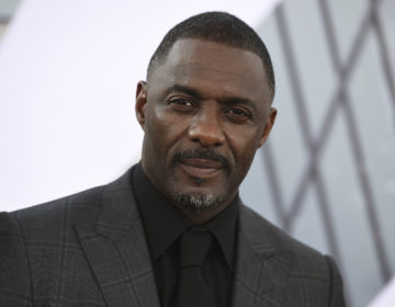 Idris Elba arrives at the Los Angeles premiere of