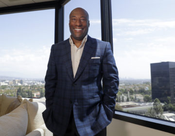 Comedian and media mogul Byron Allen, in Los Angeles. (Chris Carlson/AP Photo)