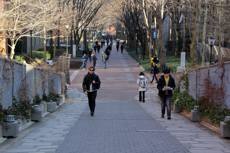 Locust Walk on the University of Pennsylvania campus. (Emma Lee/WHYY)